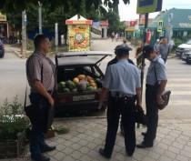 Граждане из Украины и Армении попались на стихийной торговле в Феодосии