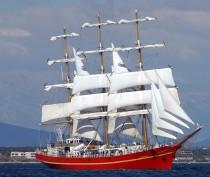Новости Феодосии: Внимание! Условия посещения парусника «Херсонес» феодосийцами и гостями и города
