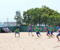 Новости Феодосии: Феодосийские спасатели заняли третье место в чемпионате по пляжному футболу среди команд МЧС
