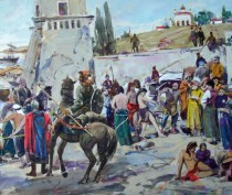 Отрывки из романа о средневековой Феодосии