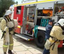 Спасатели ликвидировали условный пожар в феодосийской школе