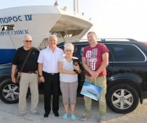Керченская паромная переправа встретила миллионный автомобиль