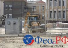 Владимир Константинов посмотрел на стройки в Феодосии