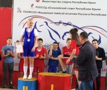 Феодосийская тяжелоатлетка стала второй
