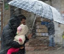 Ветер, дожди и даже снег ожидаются сегодня в Крыму