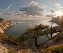 Почти сто лет назад 11 ноября в Феодосии загорали и купались в море