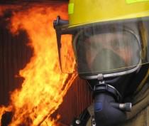 В Феодосии снова горела машина