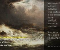 «Шторм на море» Айвазовского продали в Чехии почти за 800 тыс евро