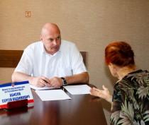 На приеме у министра внутренних дел по РК в Феодосии был аншлаг