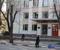 Феодосийская музыкальная школа №1 ограждена сигнальной лентой