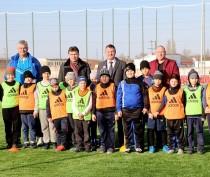 В Керчи торжественно открыли новое футбольное поле (ФОТО)