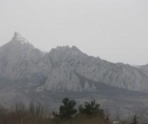 Непривычно холодно в Феодосии