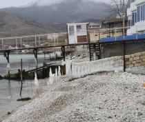 «Ледниковый период» в Феодосии подходит к концу