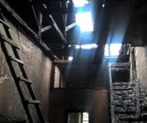 Дом Культуры сгорел в Старом Крыму