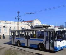 В Керчи приостановлено троллейбусное сообщение от Гагаринского кольца до Завода «Войково»