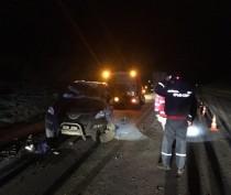 ДТП в Ленинском районе: столкнулись «Nissan» и грейдер