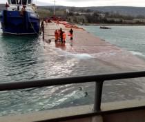 Росморречфлот сообщил об откачке топлива с аварийного сухогруза «Берг» в Феодосии