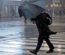 Сильные дожди и ветер надвигаются на Крым