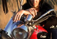 Альбом девушки - Надюшка Шам - байк фотосессия