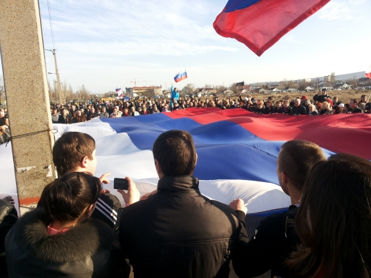 Альбом 2014, Феодосия готова встретить фашистов. -