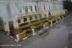 Феодосия. Веб-камера Феодосии - Памятник Айвазовскому