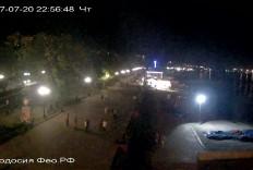 Феодосия. Веб-камера Феодосии - Набережная