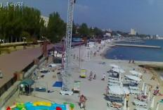 Феодосия. Веб-камера Феодосии - Пляж Камешки