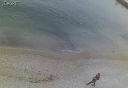 Веб-камеры Феодосии : Вид на порт и маяк