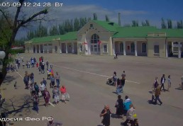 Веб-камеры Феодосии : Привокзальная площадь