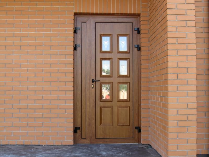 Двери металлопластиковые Эксклюзивные